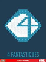 superheros lego 4fantastiques