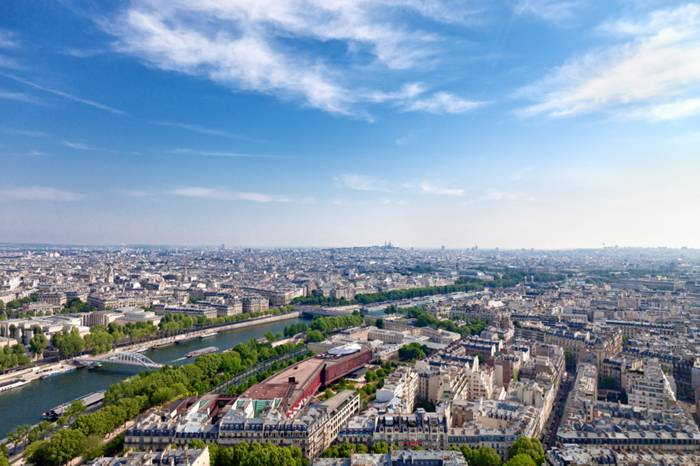 Paris from Bird's-eye View
