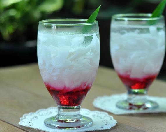 Cara Membuat Minuman Es Agar Agar Segar Dingin
