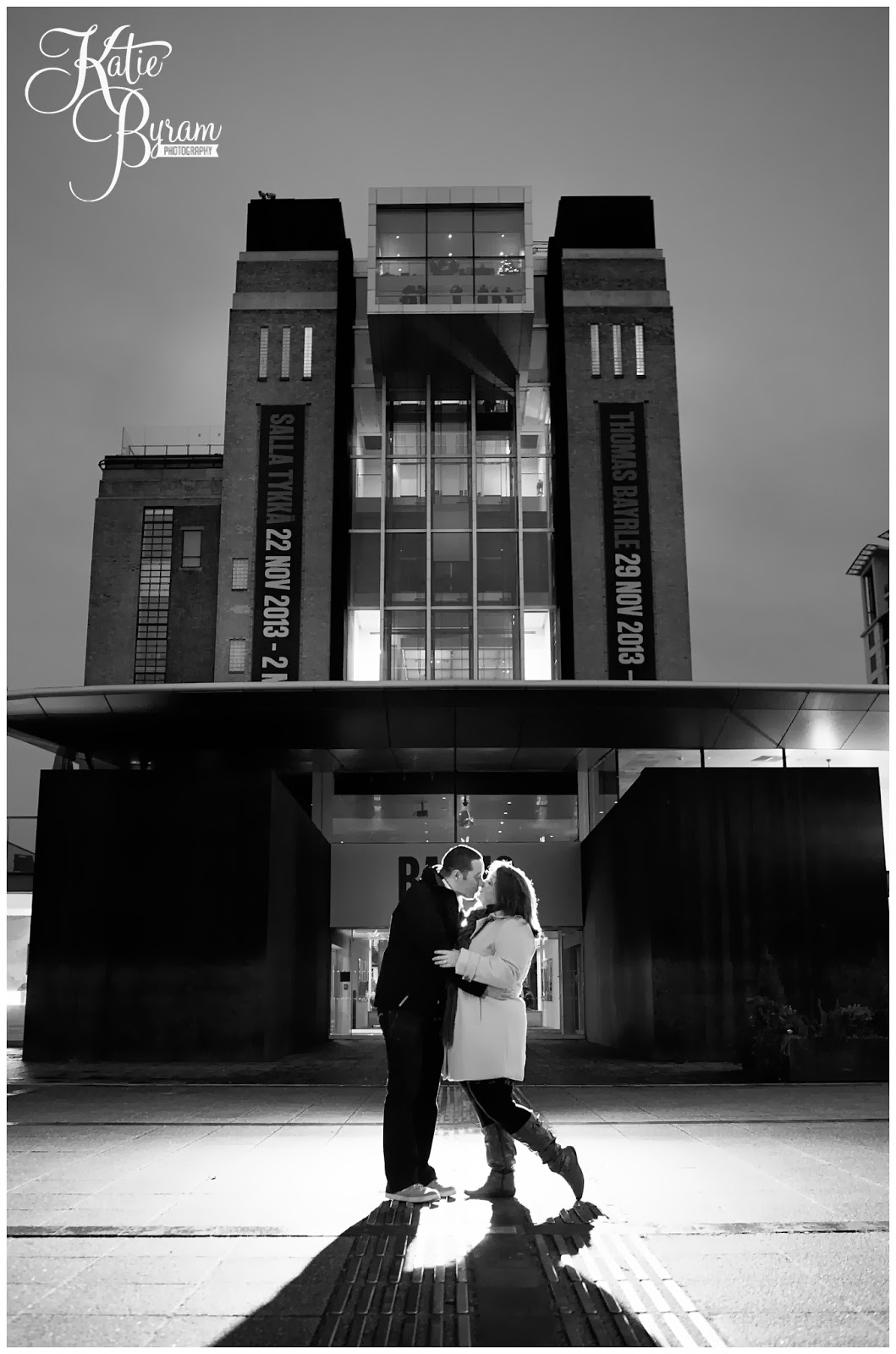 night time engagement shoot, newcastle quayside engagement, newcastle pre-wedding shoot, newcastle quayside portraits, tyne bride engagement, christmas in newcastle, fenwicks window, millenium bridge engagement, pitcher and piano newcastle, olive and bean cafe, the baltic wedding, newcastle wedding photographer, katie byram photography