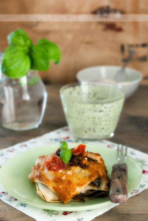 lasagnette con carciofi e ciliegini