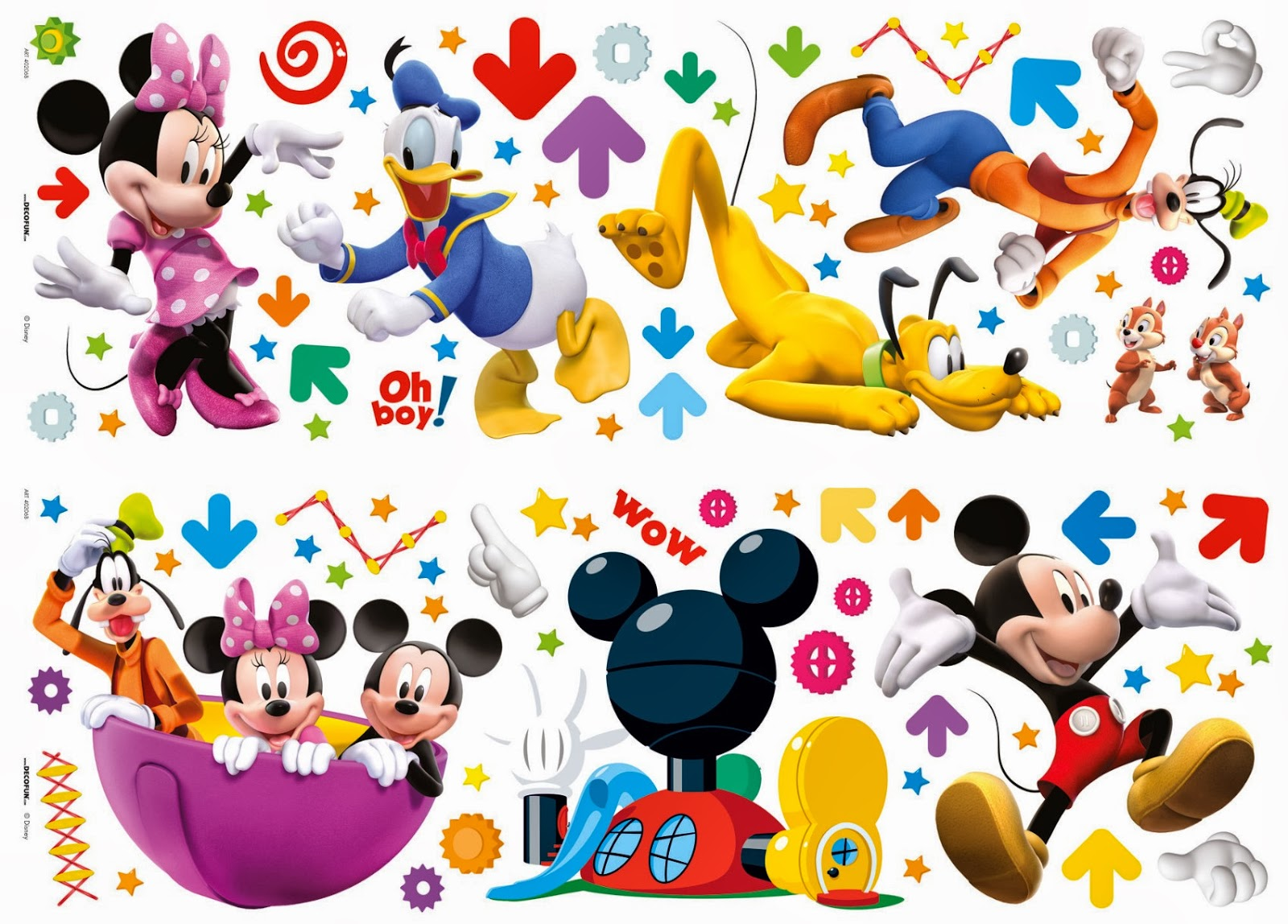 Minnie and mickey wall decals high resolution photos
