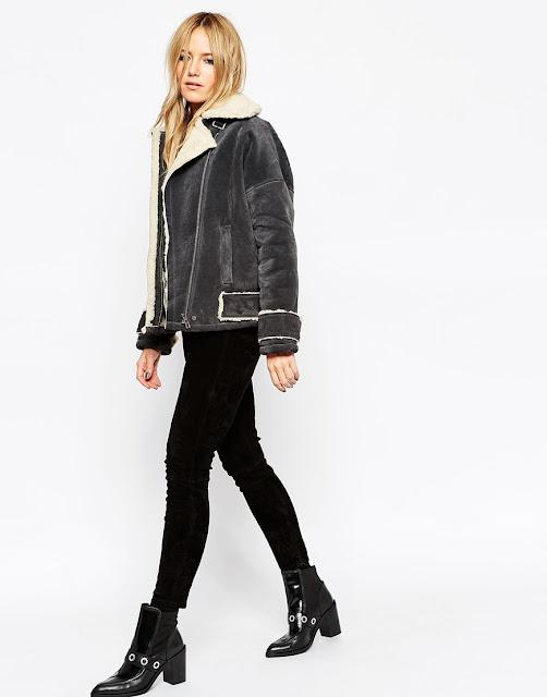 grey suede coat, grey suede jacket,