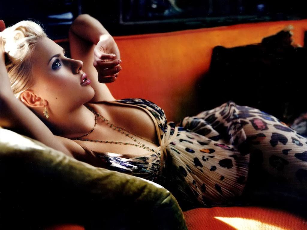 Scarlett Johansson sexy celebrity