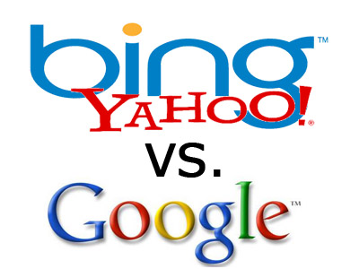 Battle of The Search Engines - Google vs. Bing vs. Yahoo ...