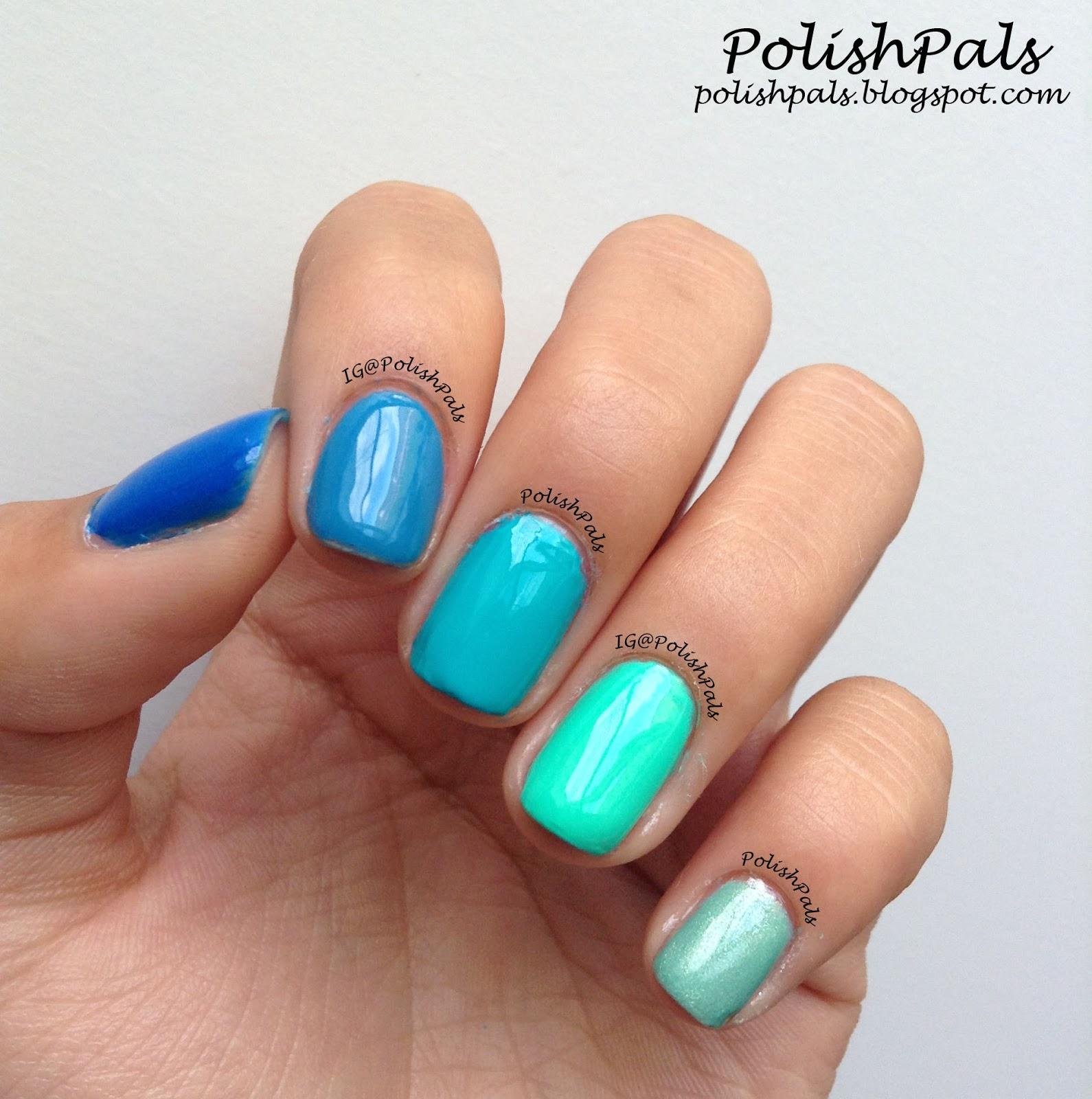 Polish Pals: Ombre Nails