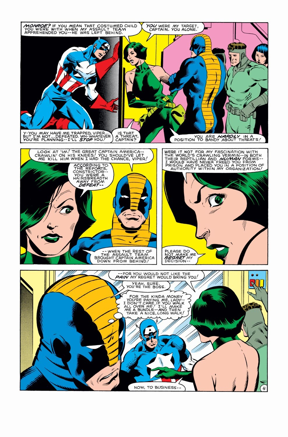 Captain America (1968) Issue #282 #198 - English 5