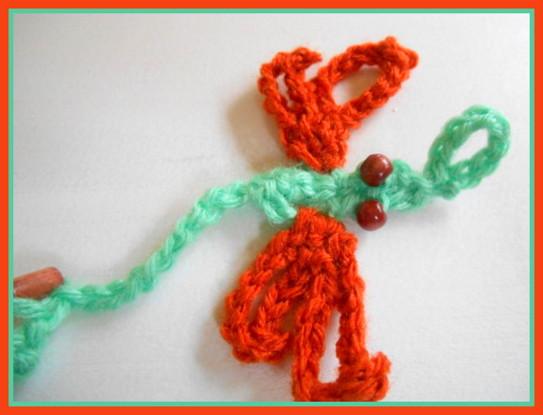 Dragonfly Crochet Barefoot Sandal