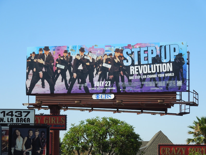 Step Up 4 Revolution movie billboard