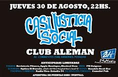 CASI JUSTICIA SOCIAL EN POSADAS!! JUEVES 30 DE AGOSTO 2012