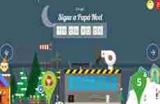 Navidad 2013: Google Santa Tracker, permite seguir el recorrido de Papá Noel