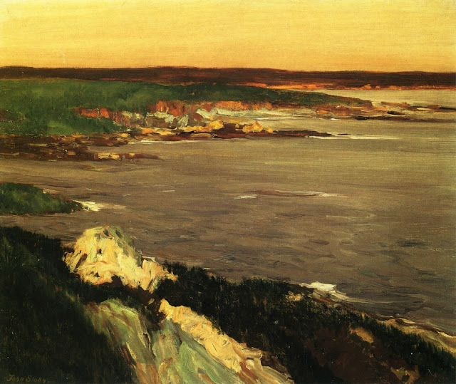 1917 The Lookout Green and Orange Cliffs, Gloucester
