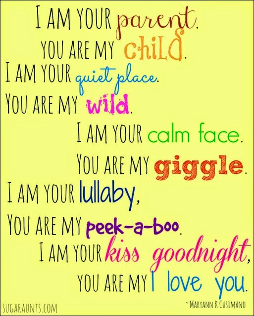 You Are My I Love You quote.