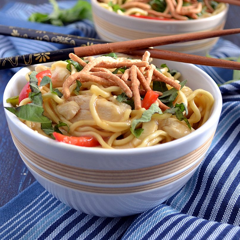 The foodie couple chicken chow mein chicken chow mein forumfinder Image collections