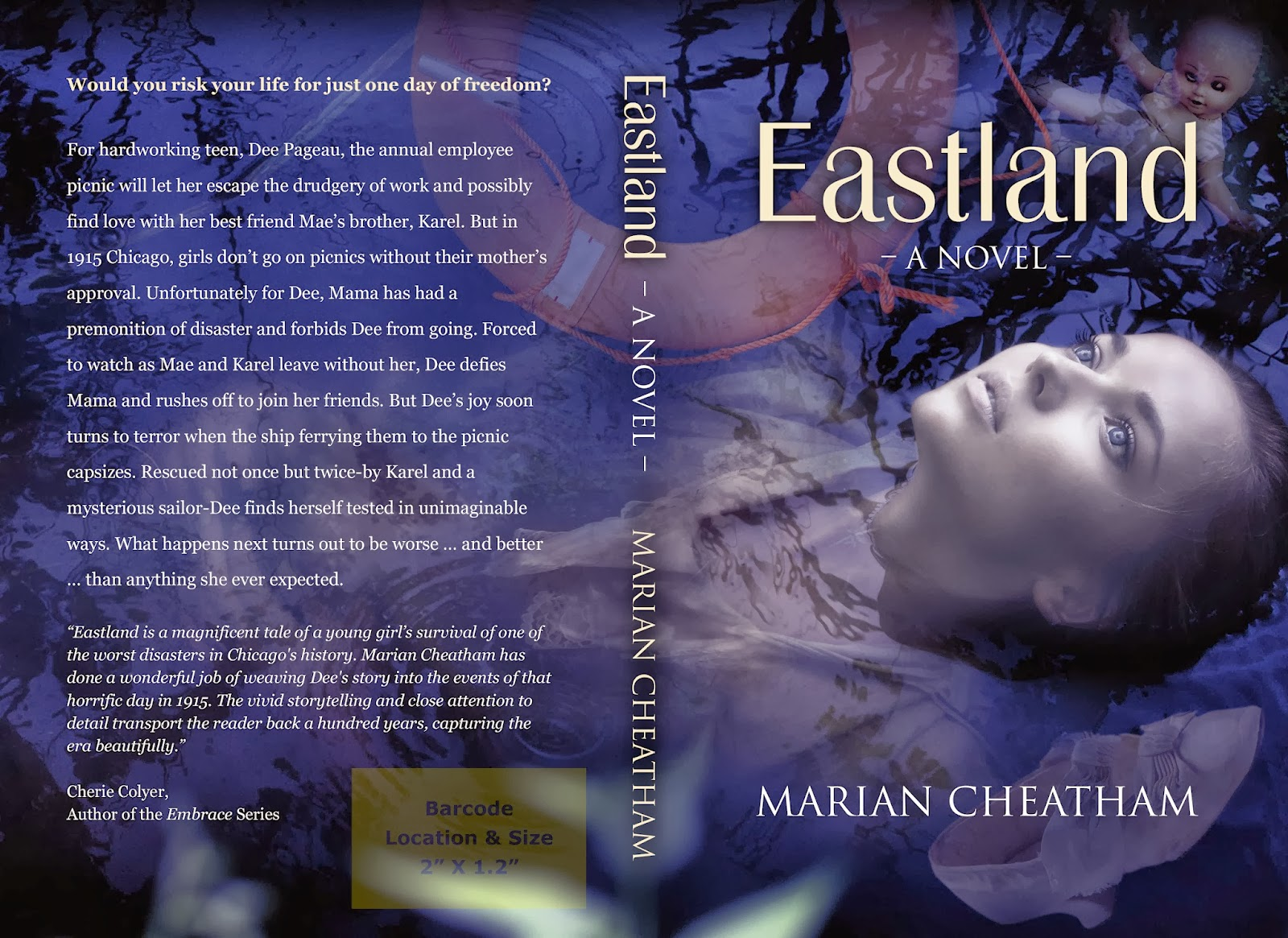 Cover Reveal – Eastland
