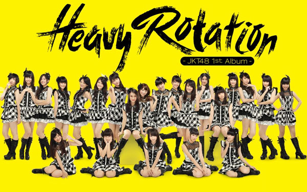 JKT48 1st Album: Heavy Rotation