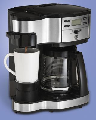 Coffee Maker In Jordan : Hamilton Beach: Two Way Brewer 48465 Coffee Maker Kitchen Appliances