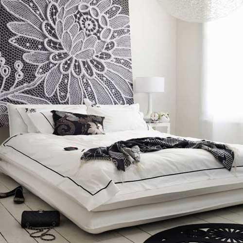 Bed Designs Without Headboards Interior Home Design