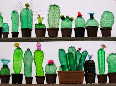 Hoa Handmade Từ Chai Nhựa