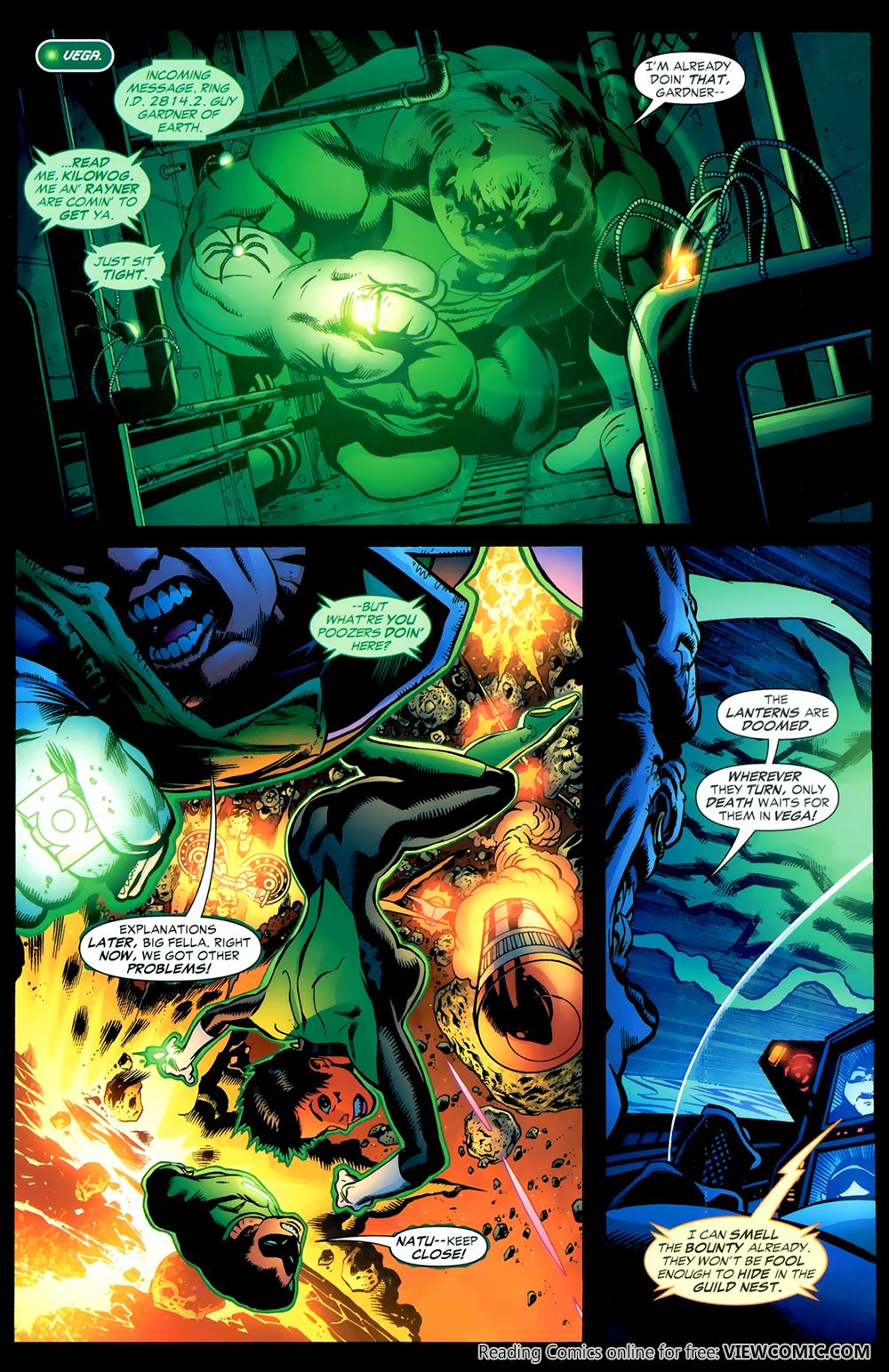 green lantern corps recharge 04 of 5 2006 viewcomic reading