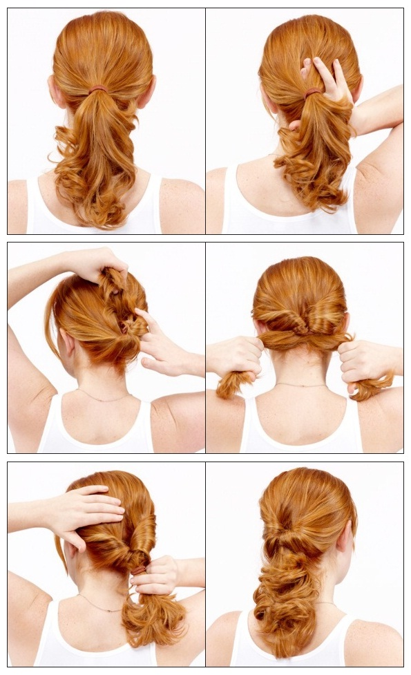 Hairstyles How To Do : hairstyles: How to Do a Topsy Tail