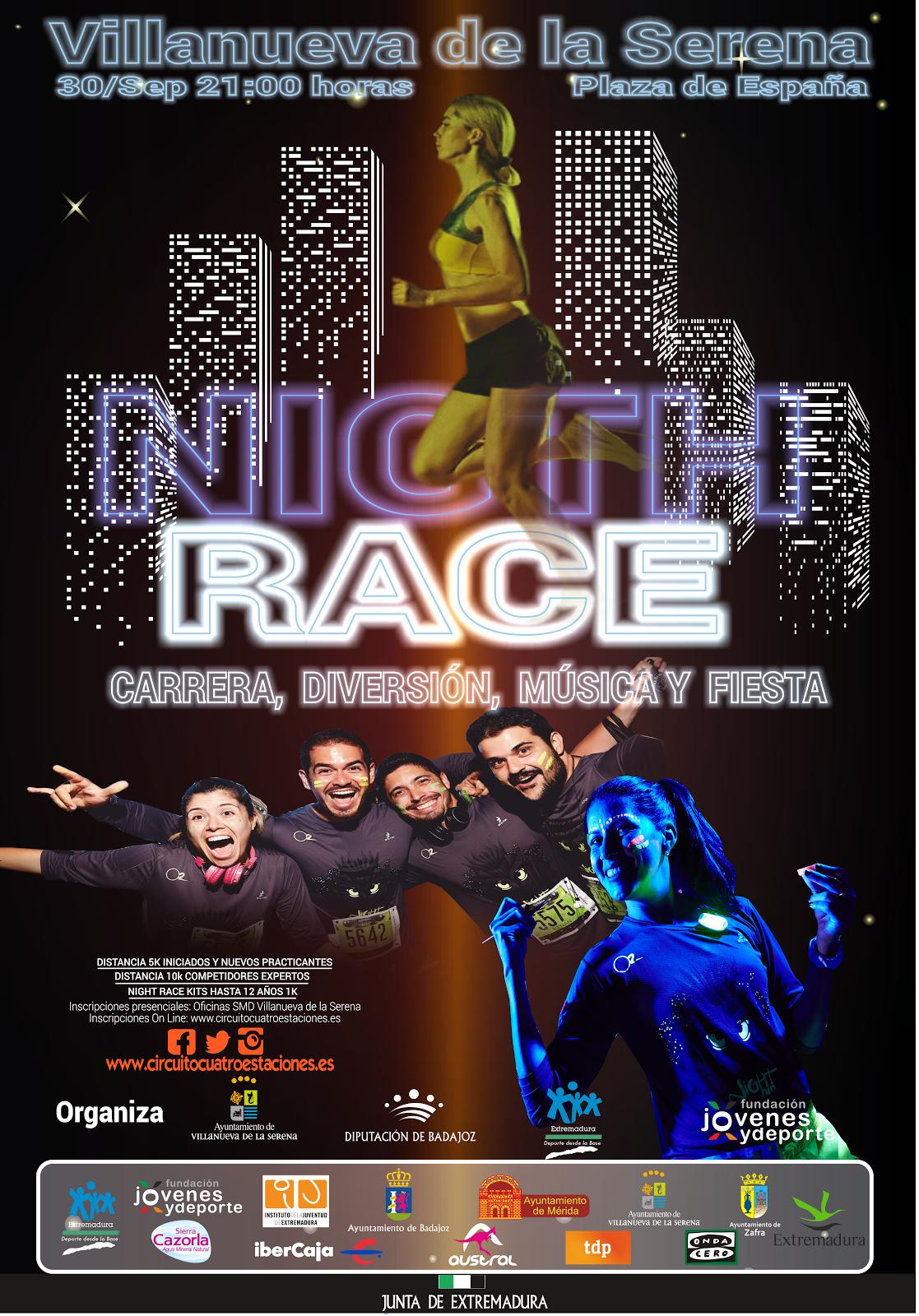 Nigth Race Villanueva de la Serena