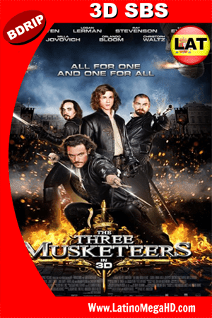 Los Tres Mosqueteros (2011) Latino HD 3D SBS BDRIP 1080P (2011)
