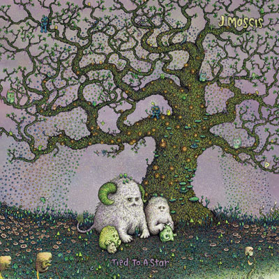 The 10 Best Album Cover Artworks of 2014: 08. J Mascis - Tied to a Star