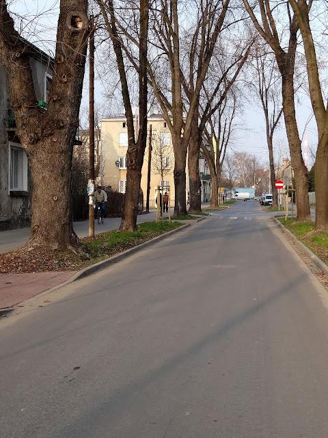 Ulica Tarnowiecka jednokierunkowa