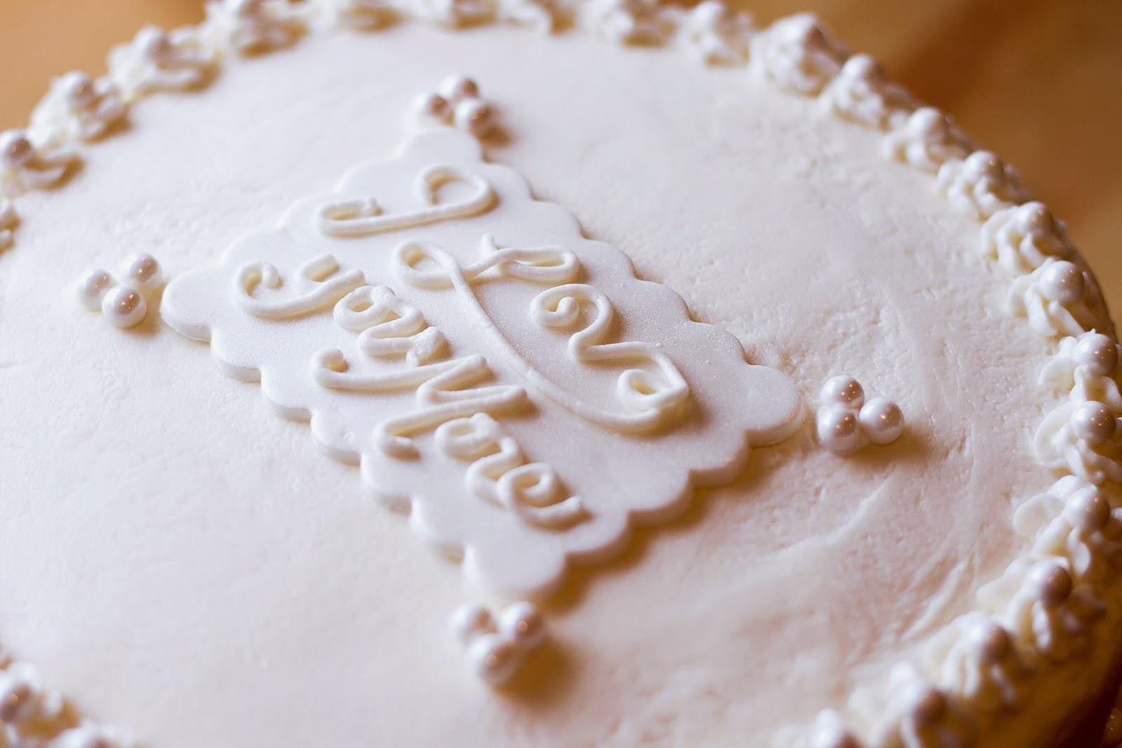 The Cullinan Family: Small Wedding Cake