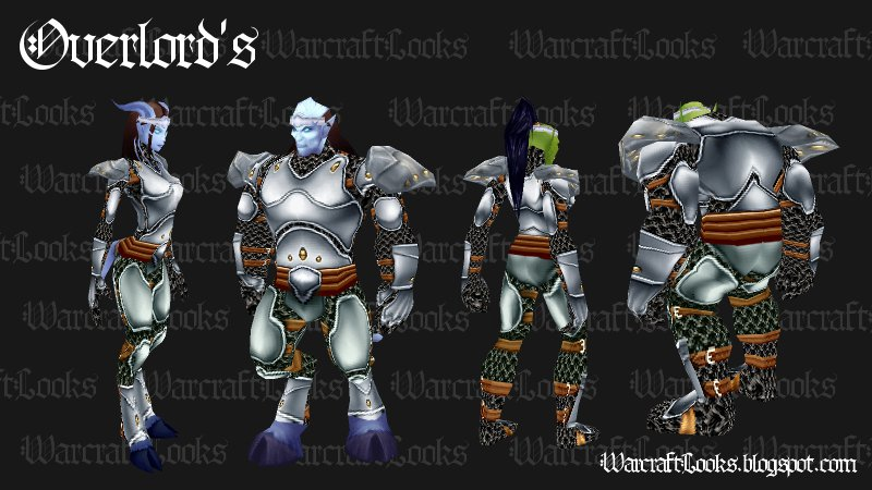 Great Looking Uncommon Plate Sets : transmog plate sets - pezcame.com