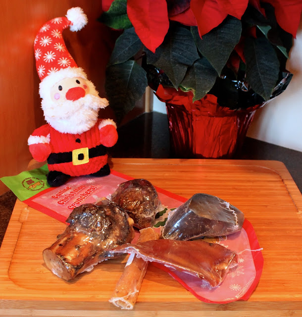 Canine Christmas Crunchers from Jones Natural Chews