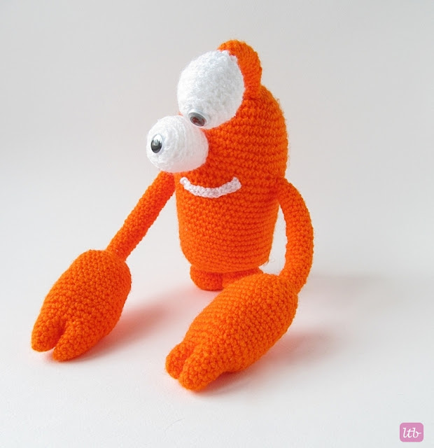 {Amigurumi Greg the Crab Monster} - Little Things Blogged