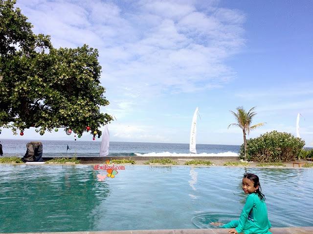 dzarifa,menginap di Living Asia Resort Lombok