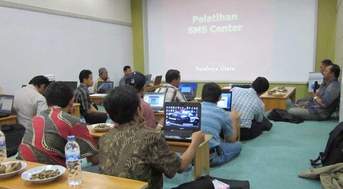 Optimalkan Informasi, Senkom Sidoarjo Ikuti Pelatihan SMS Center