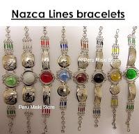 Bracelets with Nazca Lines