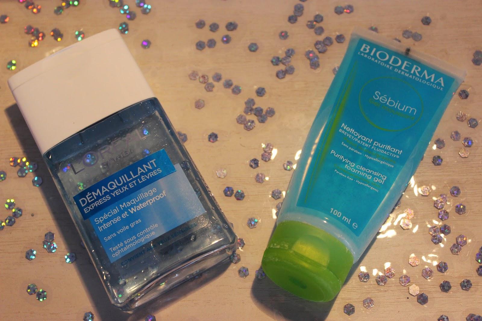 démaquillant L'oreal, sébium nettoyant purifiant Bioderma