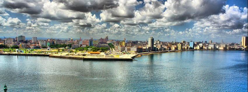 Couverture pour facebook Cuba plage