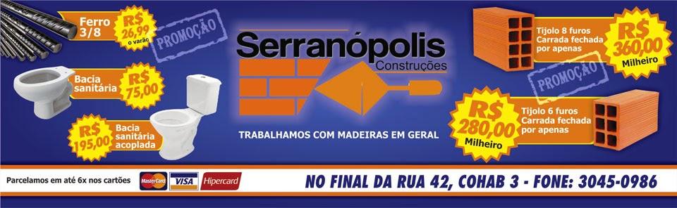 SERRANÓPOLIS CONSTRUÇÕES