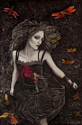 O Surrealismo Poético de Alessia Lanetti, ilustração
