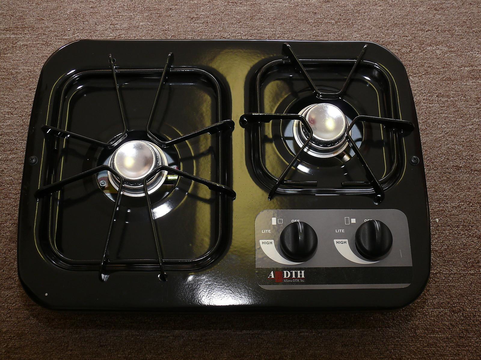 Volt Two Burner Electric Cooktop Dorm Room