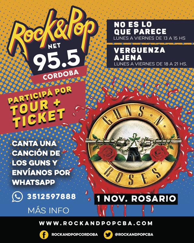 Concurso Guns N' Roses