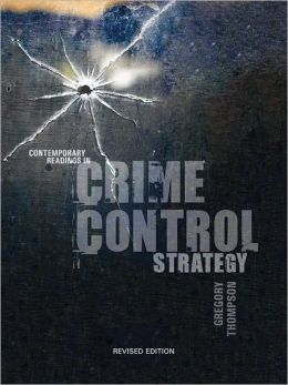 strategy against crime control
