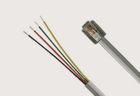 Port Kabel Telepon Rjj Konektor Kabel Telepon