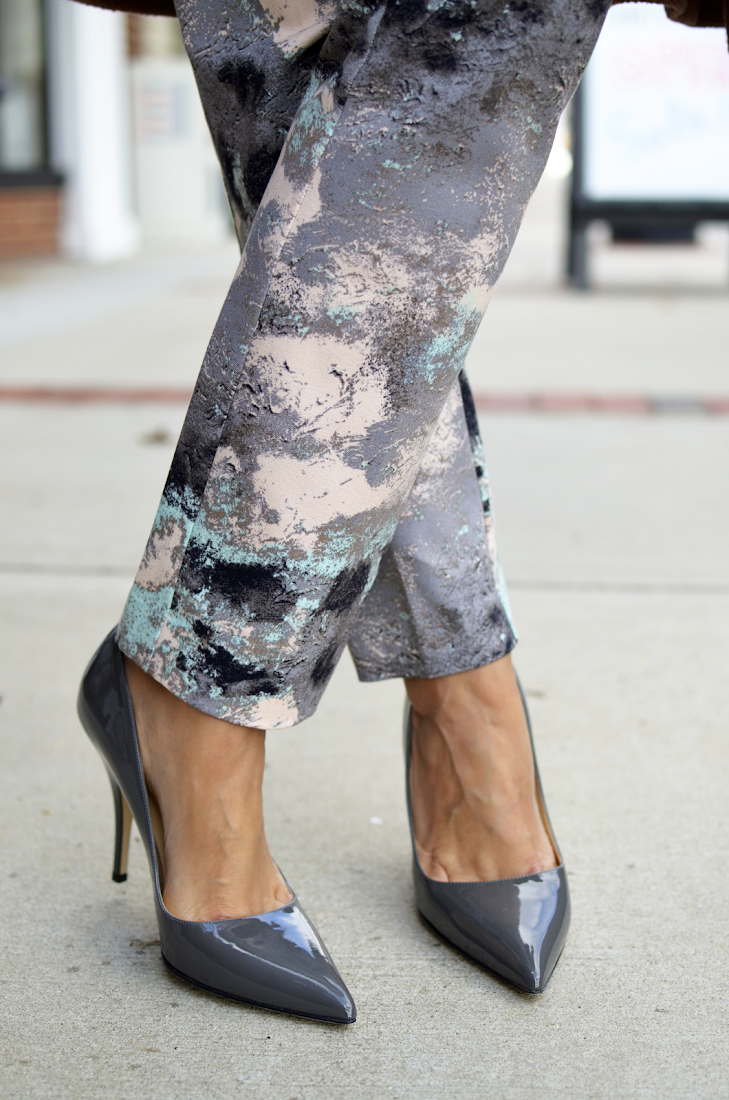 Grey Shoes Pumps