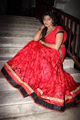 Sowmya glamorous half saree photos-thumbnail-6