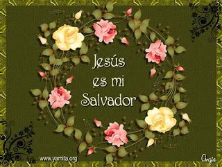 Tarjeta – Jesús es mi salvador