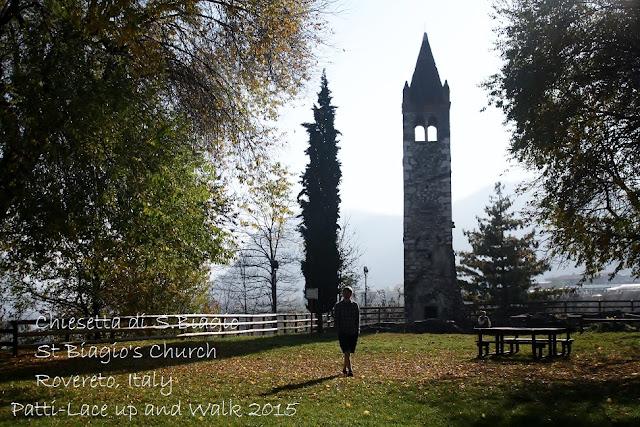 Chiesetta di S.Biagio Rovereto, Italy laceupandwalk.blogspot.com