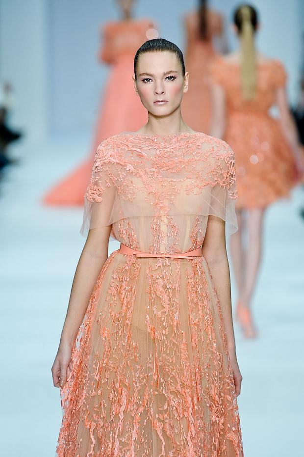 Fashion runway elie saab spring 2012 paris fashion week for Couture vs haute couture