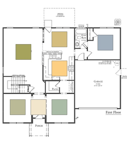 Open Floor Plan Color Schemes http://colorspecialist-charlotte.blogspot.com/2012/02/hire-best-painter-you-can-afford.html